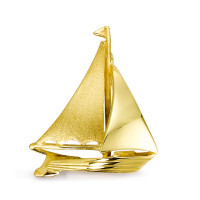 Anh�nger  Segelboot