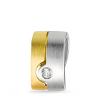 Anh�nger Diamant 0,03 ct, bicolor