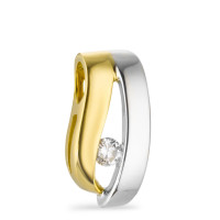Anh�nger Diamant 0.08ct w-si, bicolor