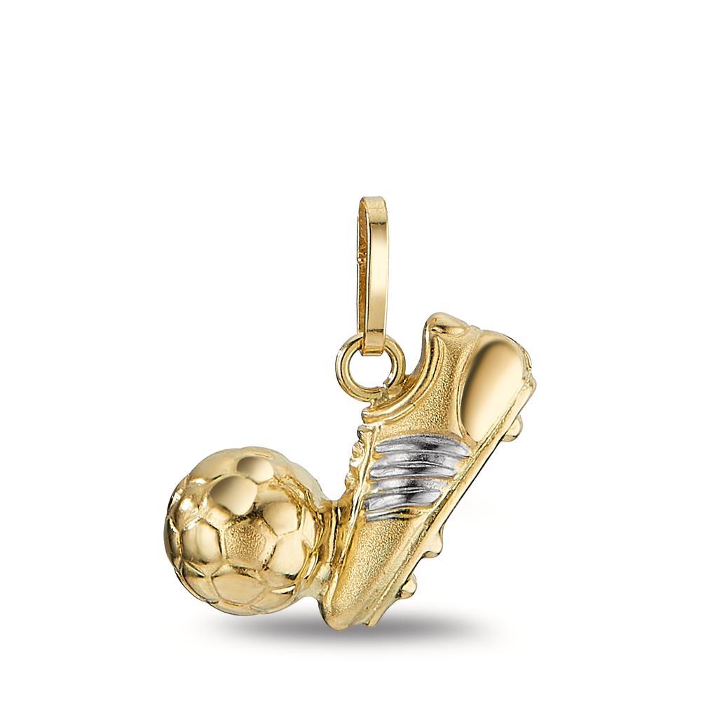 Anh�nger  Fussballschuh mit Ball